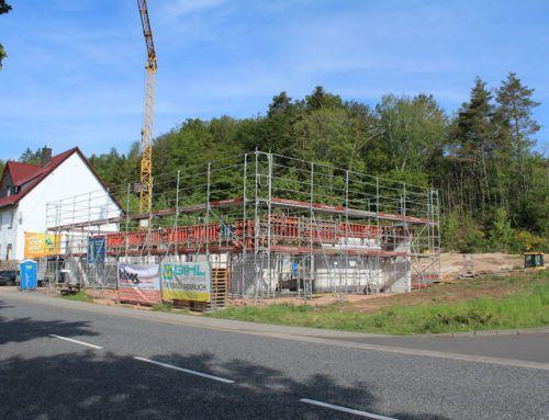 Neubau der Sparkassen-Geschäftsstelle in Türkismühle