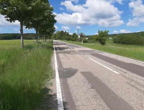 Landstraße von Neunkirchen/Nahe nach Eiweiler wird komplett saniert