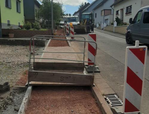 Weitere Infrastrukturmaßnahmen in der Gemeinde