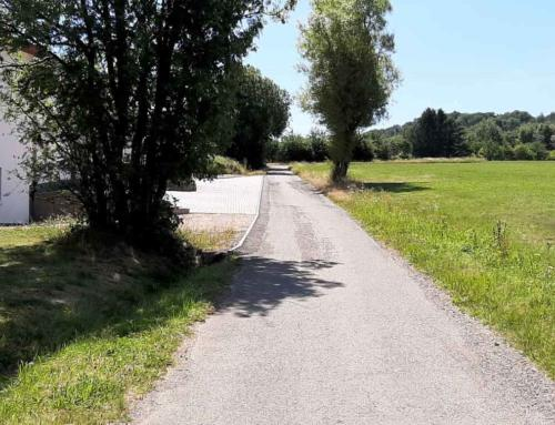 Straßensanierungsarbeiten in der Gemeinde Nohfelden
