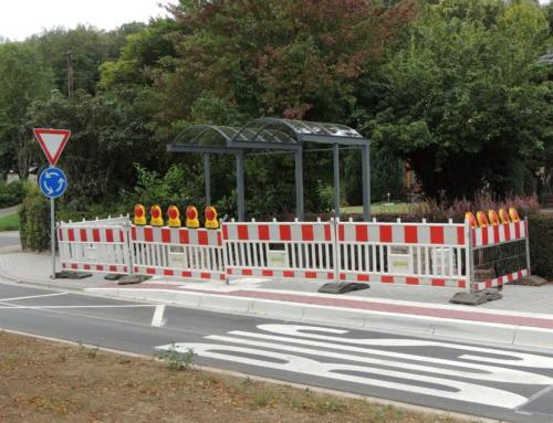 Umrüstung von Bushaltestellen