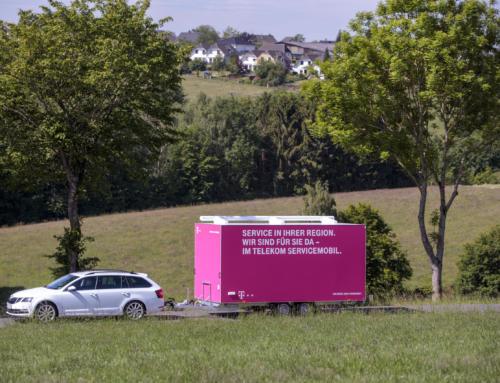 Das Servicemobil der Telekom kommt nach Nohfelden
