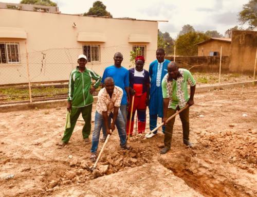 Unterstützung der Gemeinde Balingor beim Anbau des Kindergartens