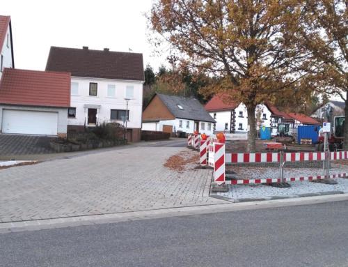 Neugestaltung der Ortsmitte in Eisen