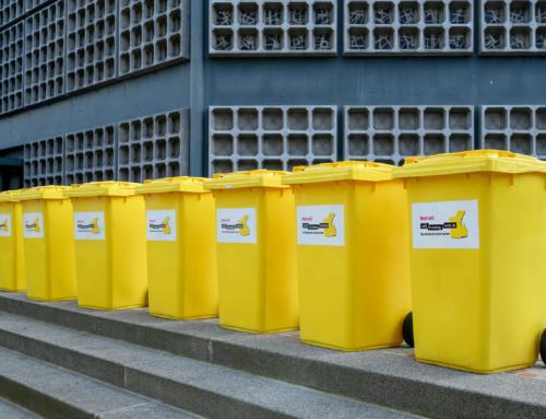 """Umstellung vom """"Gelben Sack"""" auf die """"Gelbe Tonne"""""""