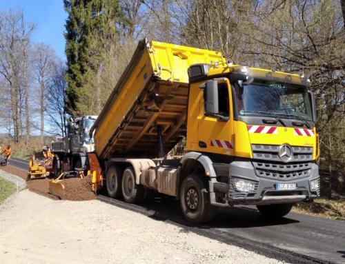 Bauarbeiten am Bahnradweg St. Wendeler Land schreiten voran