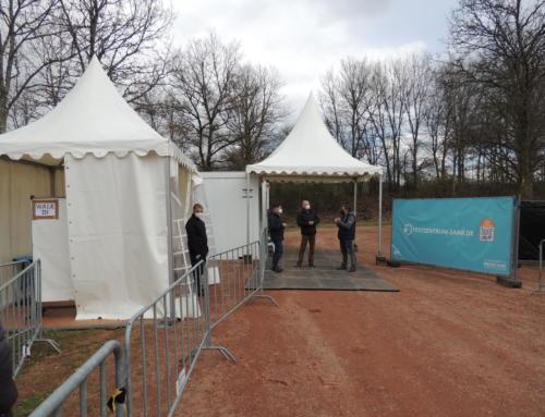 Weiteres Testzentrum am Bostalsee eröffnet