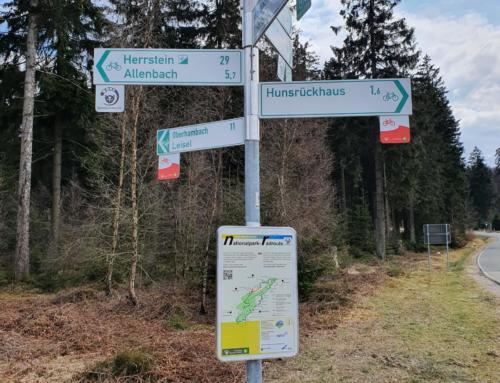 Radrundweg um den Nationalpark Hunsrück-Hochwald offiziell eröffnet
