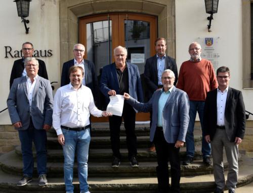Ministerium für Inneres, Bauen und Sport unterstützt das Dokumentenmanagementsystem im Landkreis