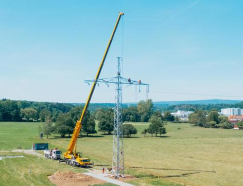 Inbetriebnahme des Ersatzneubaus der 110-kV-Leitung Wadern-Selbach